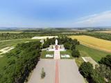 Сопка Героев, военный мемориал. Панорама с высоты птичьего полета на сайте: gelendgik.navse360.ru
