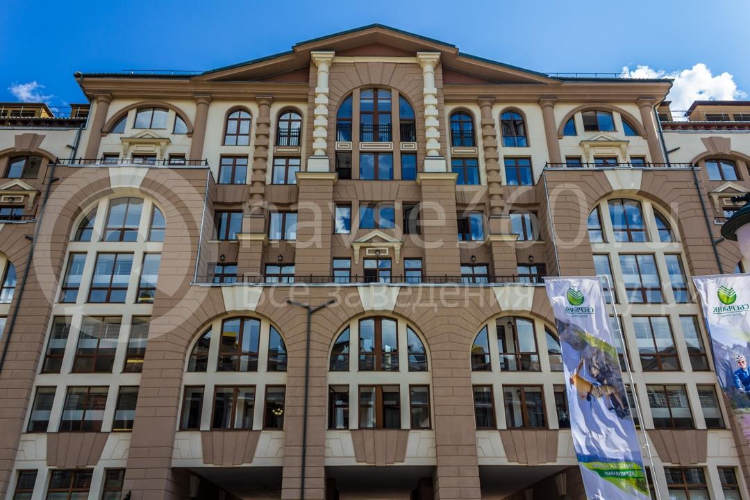 Фасад Горки Город, апартаменты