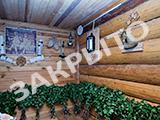 Деревенская баня на дровах