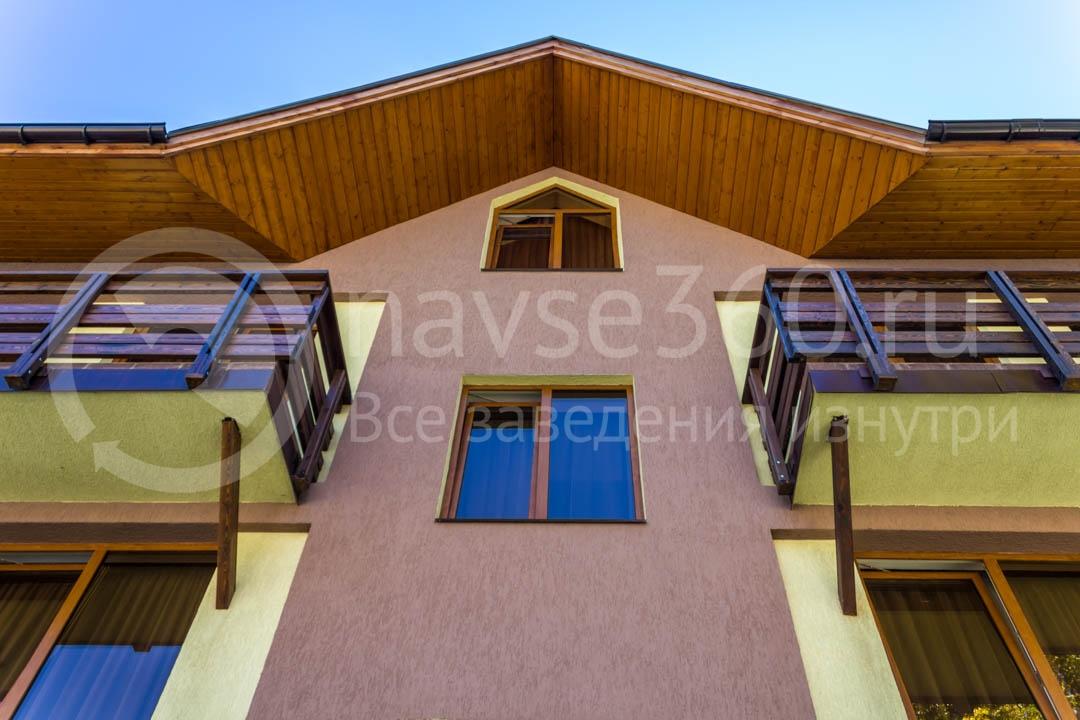 Фасад Apart, гостиница в Сочи