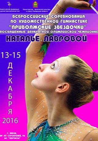 Всероссийские соревнования по художественной гимнастике «Приволжские звездочки»
