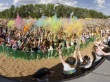 ИжХоли, фестиваль красок