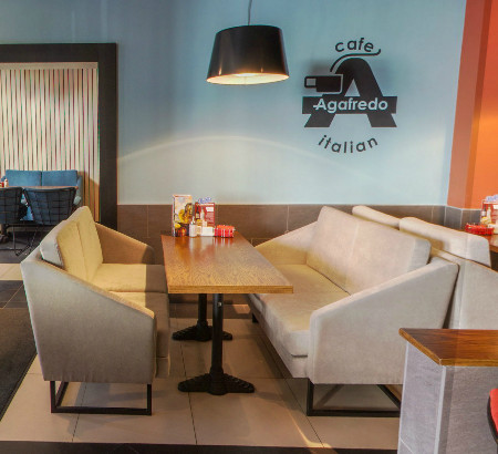 Агафредо (Галактионова), кофейня