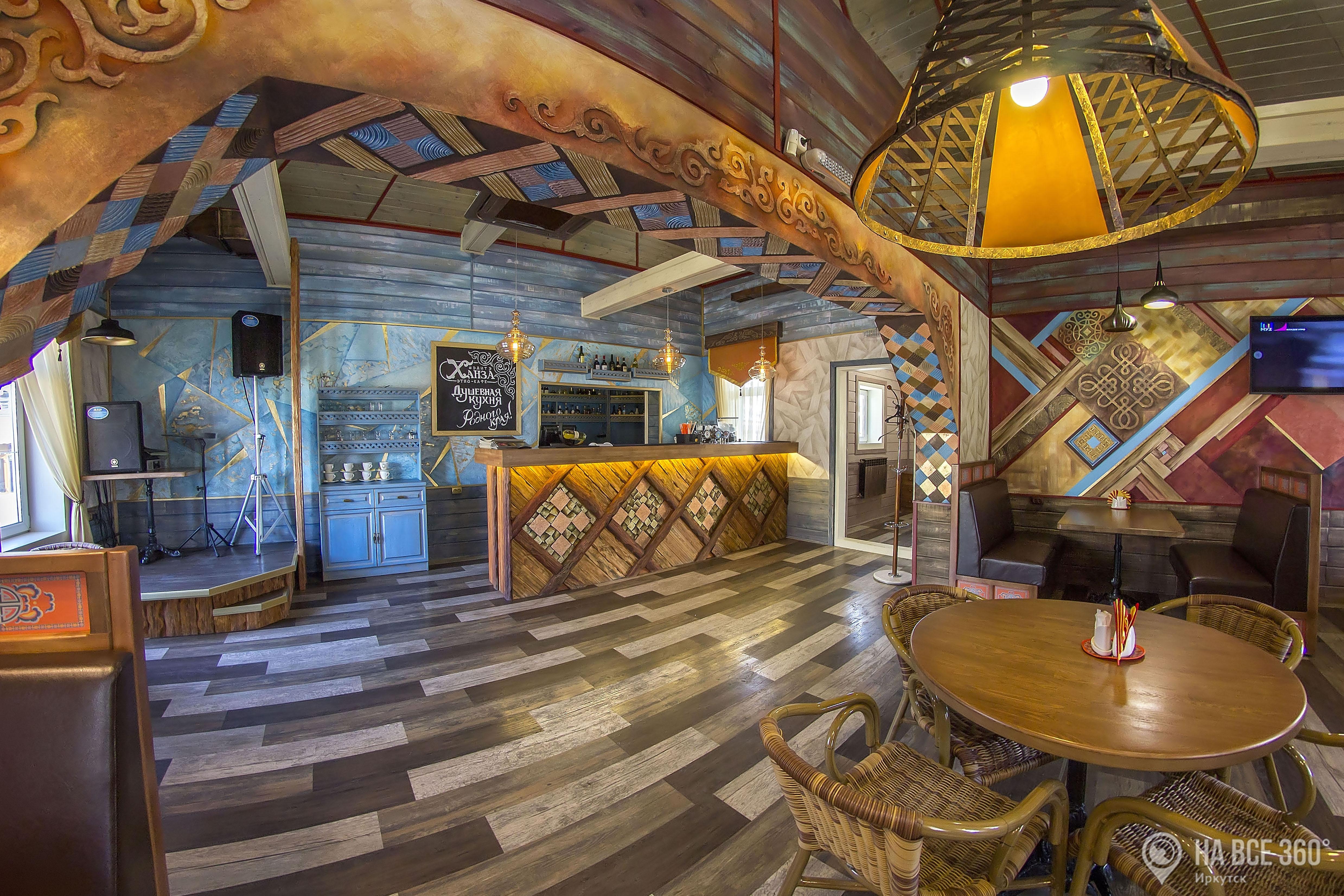 Этно-кафе в Иркутске