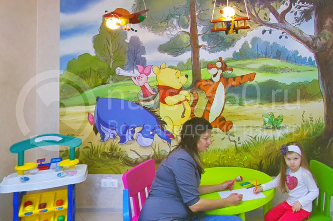 Семейная стоматология Моя Семья Краснодар, детский уголок
