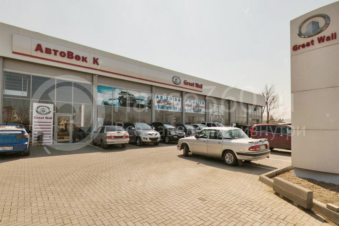 Автосалон АвтоВек К, Краснодар, фасад