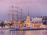 СКФ Черноморская Регата Больших Парусников 2014