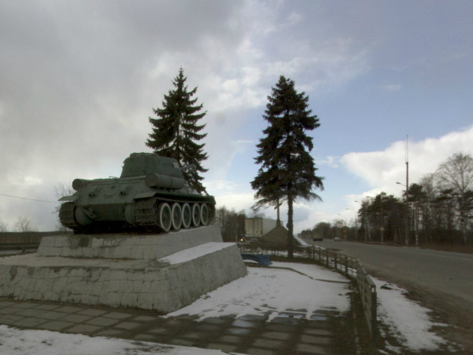 Танк Т-34, памятник