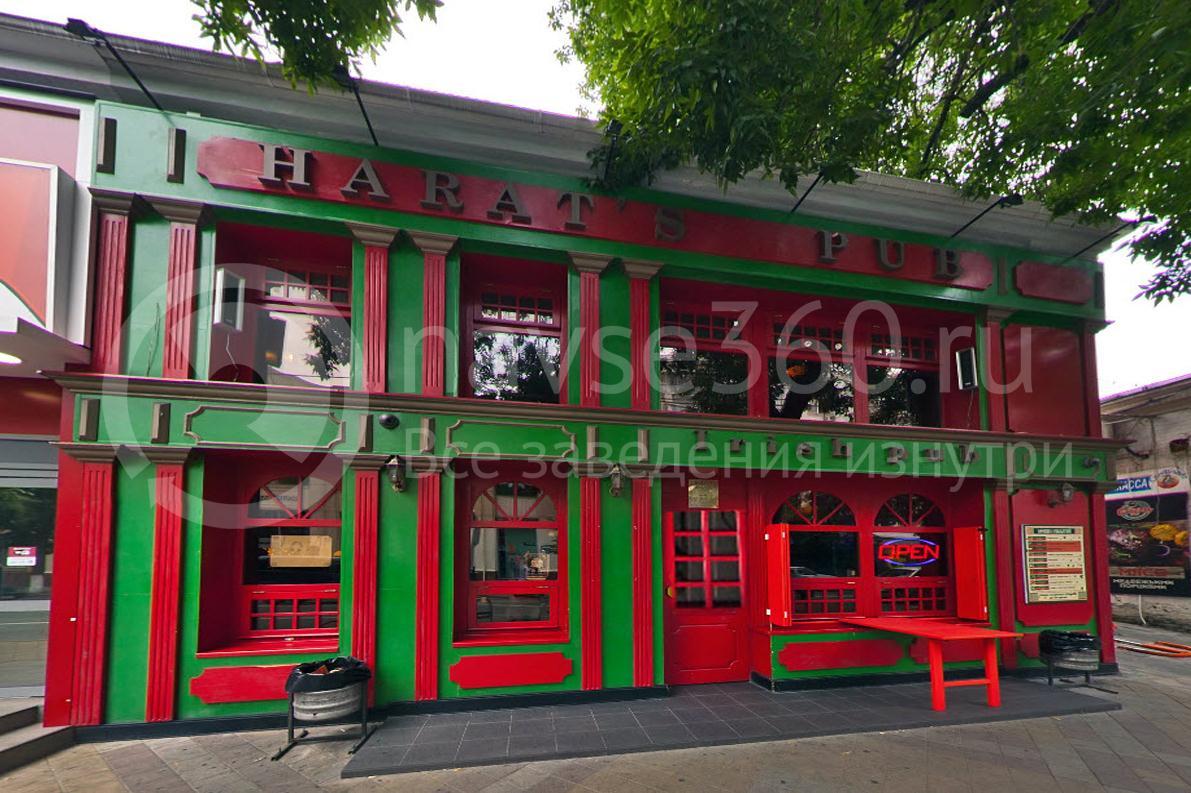 Harat`s Pub, на Красной, Краснодар, фасад