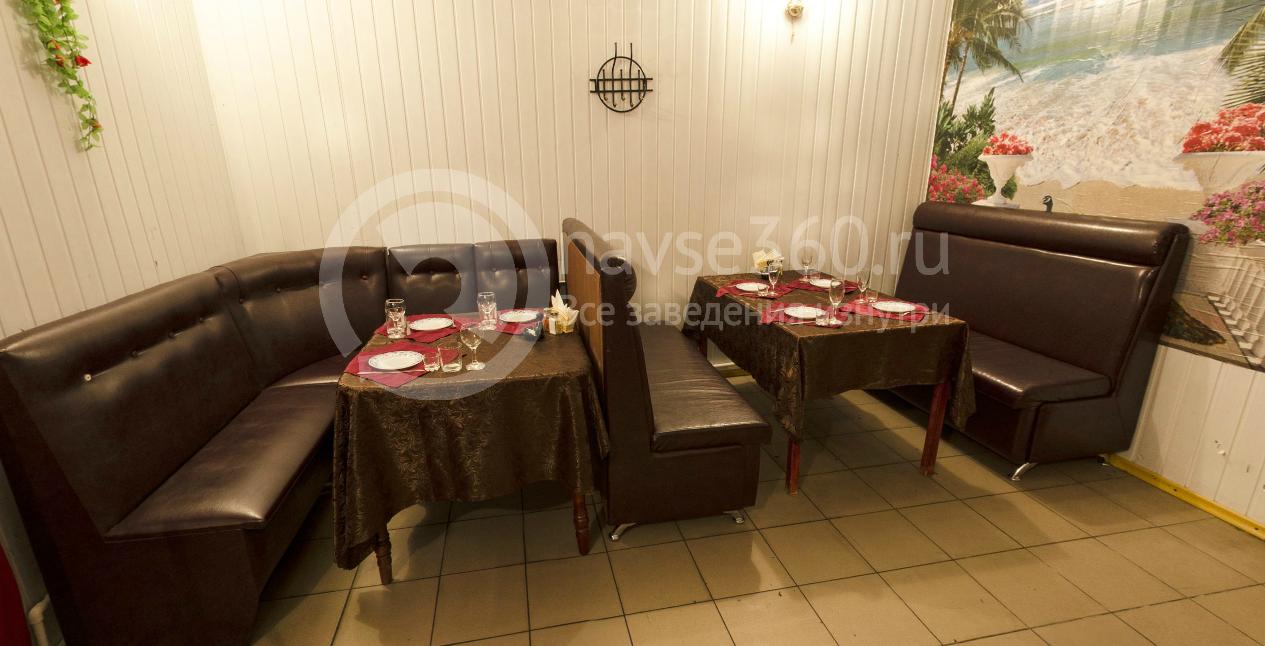 Малый зал кафе Батя