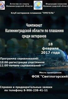 Чемпионат по плаванию среди ветеранов