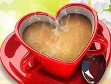 Горячий кофе в подарок
