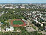 """Вид на Барнаул с высоты в районе парка """"Арлекино"""""""