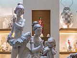 Lladro, салон художественного коллекционного фарфора