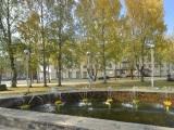 Фонтан на улице Бабушкина
