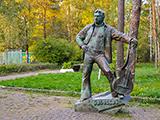 Памятник В.С. Высоцкому, аллея В.С. Высоцкого