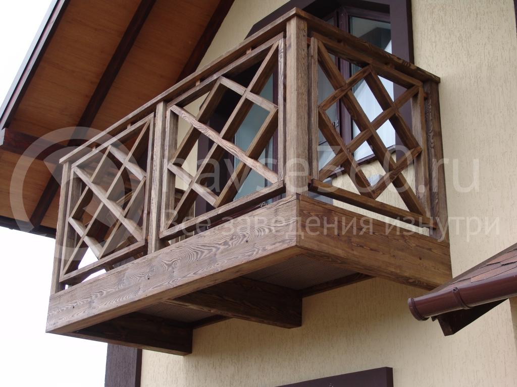 Балконы в ТАУБАШ
