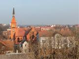 Город Зеленоградск сверху