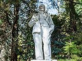 Памятник В.И. Ленину на улице