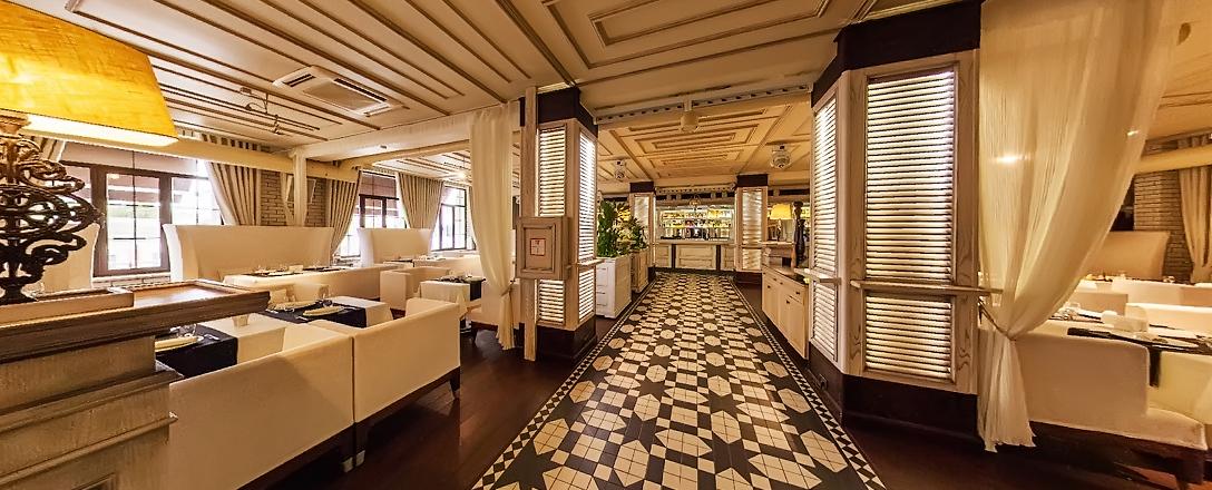 Банкетный зал ресторана La Villa в Краснодаре