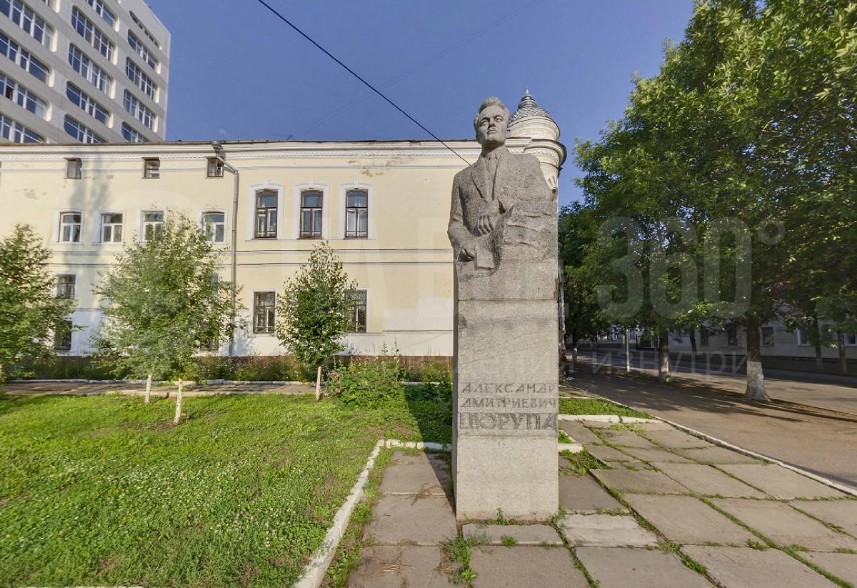 Памятник А.Д. Цюрупе