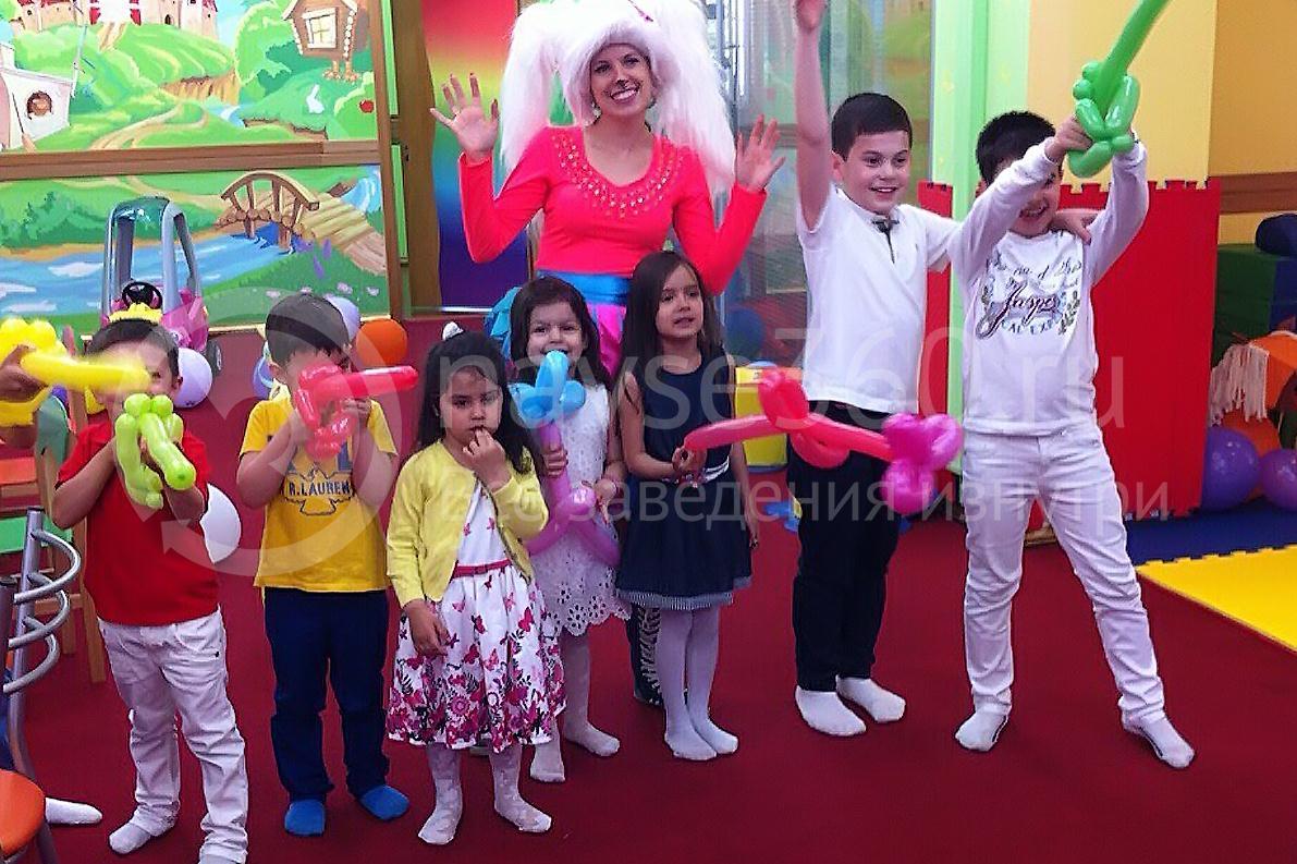 детский день рожденья в клубе бамбини краснодар 05