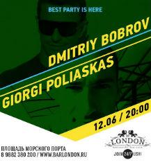 DMITRIY BOBROV AND GIORGI POLIASKAS