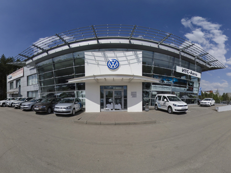 Volkswagen, автосалон