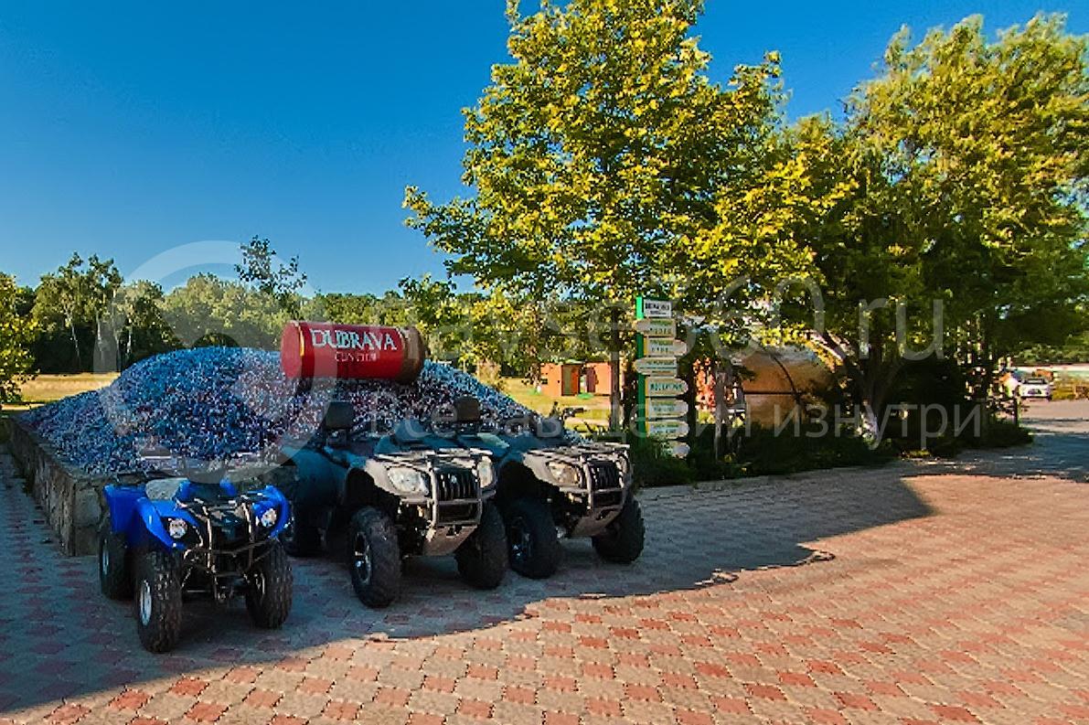 Стрелковый комплекс Дубрава, квадроциклы. фото