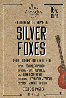 """Silver Foxes"""